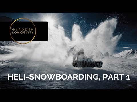 Heli-Snowboarding In Wyoming, Part 1
