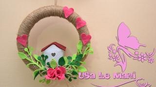DIY: Ghirlanda Fuoriporta Primavera