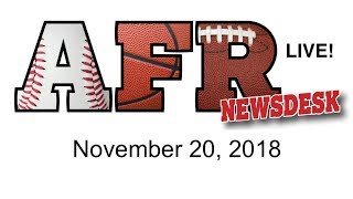 AFR Sports Board Game News for November 20, 2018