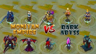 Mobile Legends Moniyan Empire vs Dark Abyss