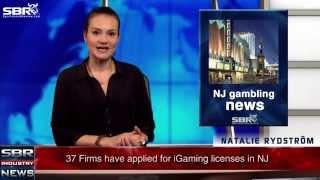 SBR Breaking News: 37 Firms Apply For Internet Gambling Licenses In NJ