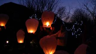 preview picture of video 'Lanterns for Laurence  (HD)'