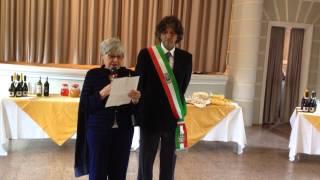 preview picture of video 'Giovanni Cabriolu Puddu Discorso figlia Maria Pia inaugurazione Caserma Borgo a Mozzano'
