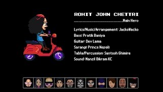 Sannani | Rohit John Chettri | Official Music Video | 8 Bit Animation Vid