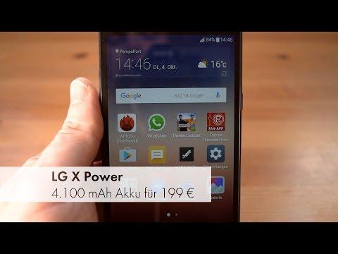 LG X Power - Smartphone mit Monster-Akku im Test [Deutsch]