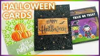 3 Easy Handmade Halloween Cards To Make