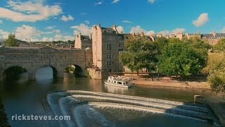 preview picture of video 'Bath, England: Ancient Spas and Modern Canals'