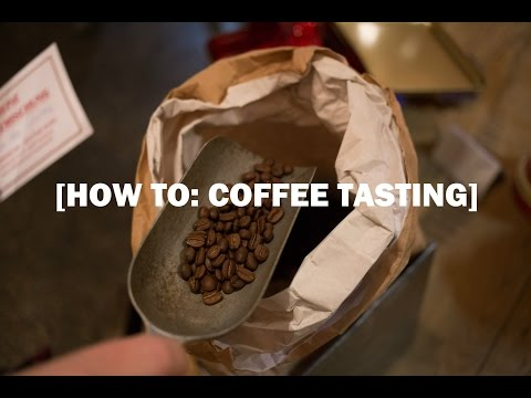A coffee tasting crash course for beginners