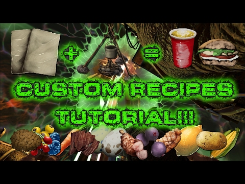 Video The Island Episode 29: Custom Recipe Tutorial!!!