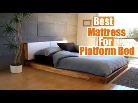 Best Mattress For Platform Bed 2019 [RANKED] | Buyer's Guide and Reviews