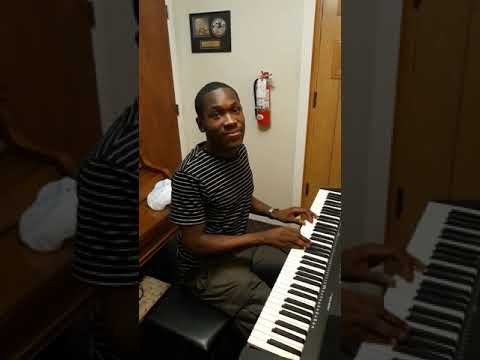 I Pledge Allegiance - a cover of Grace Thrillers' arr. by my gospel keyboard student Davaughn
