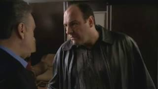 Johnny Informs Tony About Ralphie's Joke   The Sopranos HD