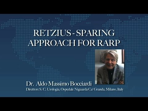 Retzius-Sparing Approach for RARP
