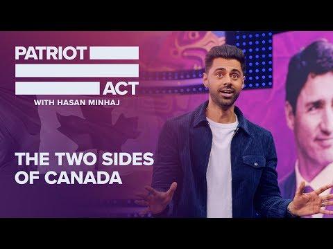 Hasan Minhaj roasts Justin Trudeau on climate hypocrisy