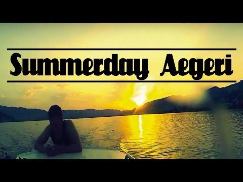 Summer day in Aegeri Switzerland (HD)