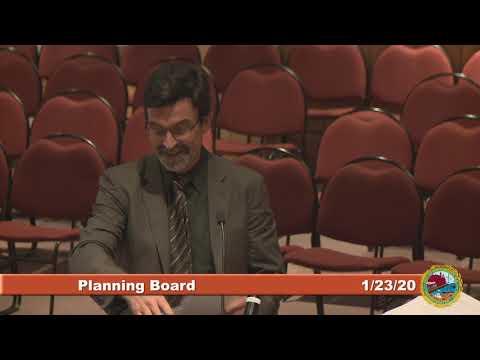 Planning Board 1.23.20