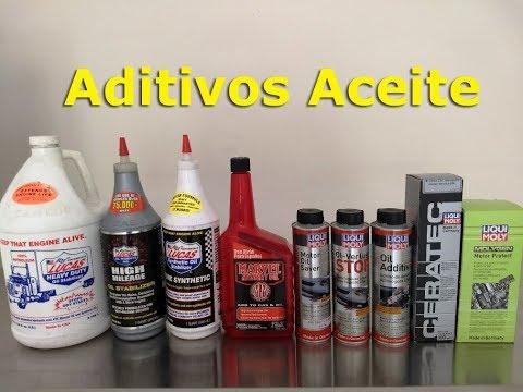 Aditivos para aceite de motor