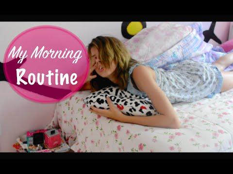 Volta as Aulas : Minha rotina da manhã para a escola !! | Mah Costa