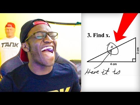 DUMBEST TEST ANSWERS EVER