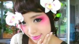 Geisha Halloween Tutorial - YouTube