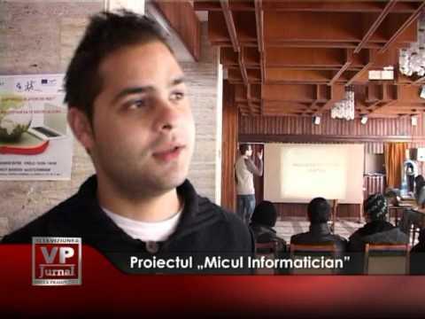 """""""Micul informatician"""""""