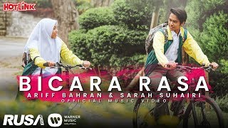 (OST Sara Sajeeda) Ariff Bahran & Sarah Suhairi - Bicara Rasa [Official Music Video]