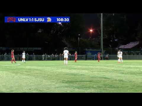 UNLV at San Jose State Women's Soccer 10-17-19