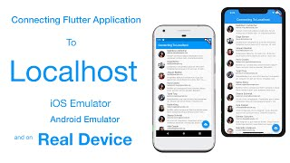 Connecting Flutter App To Localhost