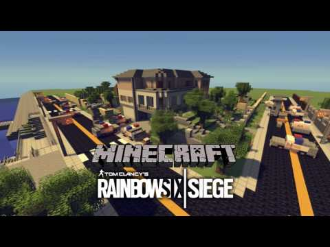 Rainbow Six Siege House Map Minecraft Project Rainbow Six Siege House Map