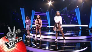 Noor, Marilys & Hanne   'Cut Loose' | The Battles | The Voice Kids | VTM
