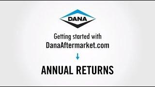 Annual Returns | DanaAftermarket.com