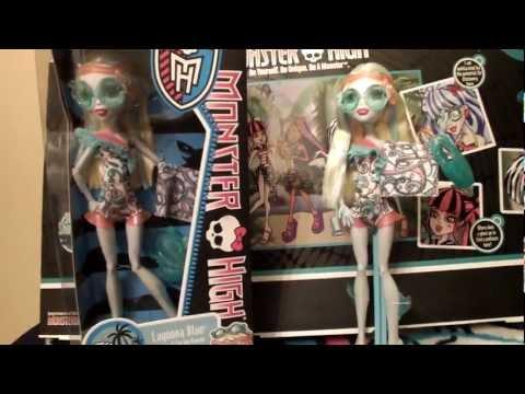 Monster High Swim Doll Lagoona Blue Review:)