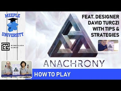 Anachrony Board Game – How to Play, featuring designer David Turczi