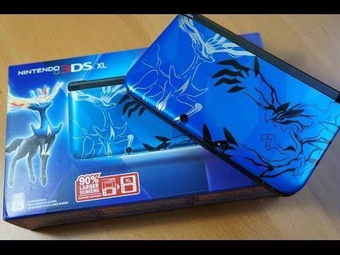 BLUE Nintendo 3DS XL Pokemon X and Y Bundle!!!