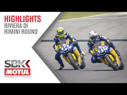 The Full, Spectacular Final Lap of WorldSSP | Riviera Di Rimini Round 2019 | WorldSBK