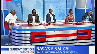 Sunday Edition: NASA's final call