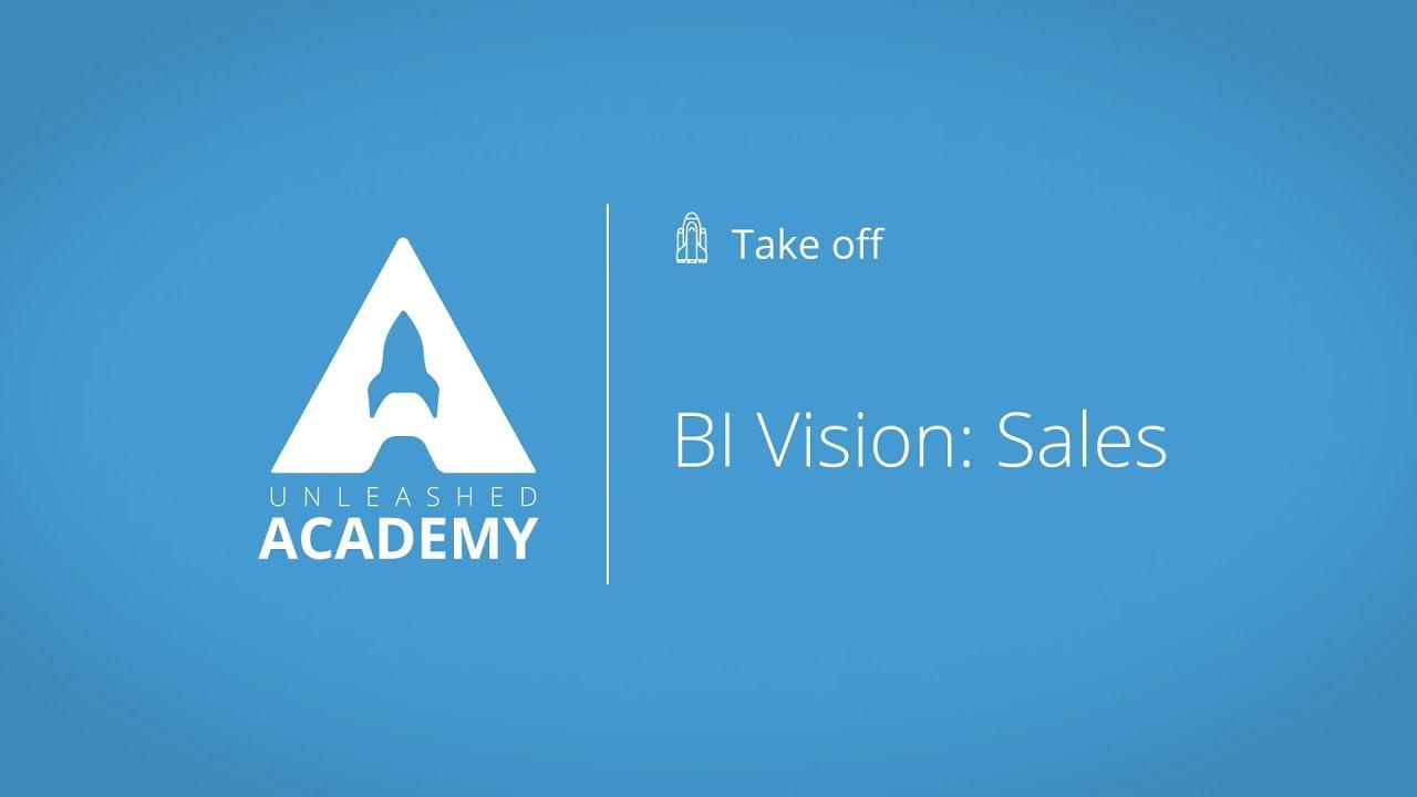 BI Vision: Sales YouTube thumbnail image