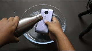 Moto E4 Plus Water Test - Is it Waterproof? [Surprising Result]