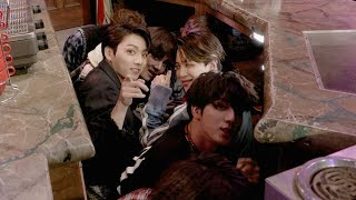 BTS Scares Fans on 'Friends' Set - Video Youtube