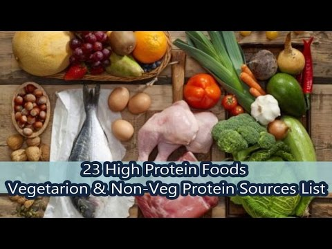 Top 23 High Protein food List
