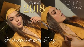 Graduation Day Vlog & Grwm | Strykar