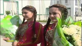 "Turkmenistan TV News ""Watan"", 25.06.2014 (Part 1)"