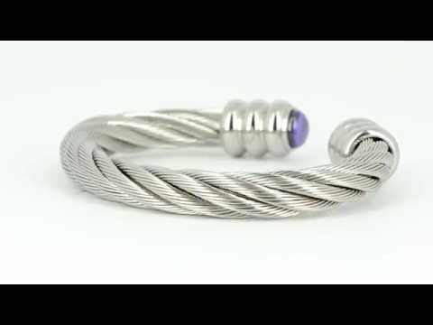 Cable bracelet – cable bangle