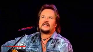 Travis Tritt on Good Day New York - The Pressure Is On (acoustic)