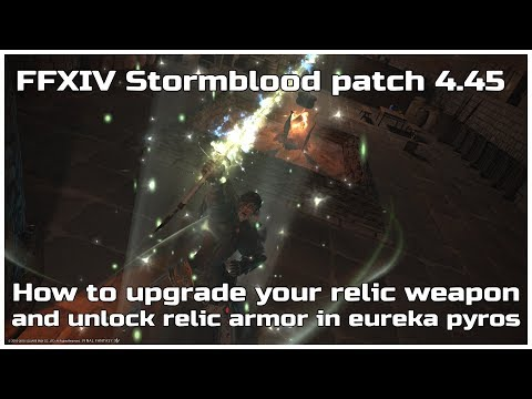 FFXIV Stormblood patch 4 45 How to upgrade your relic weapon