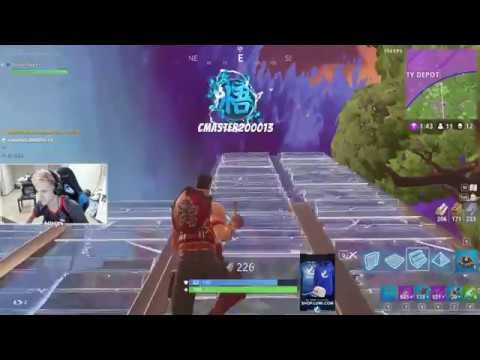 When ninja dies to a noob in fortnite!