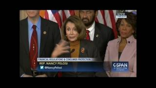 "Nancy Pelosi Promises To Oppose ""President Bush's"" Agenda"