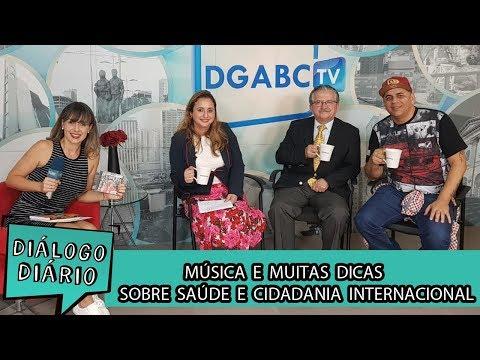 Cantor Pinha Presidente, pediatra e advogada participam do Diálogo Diário