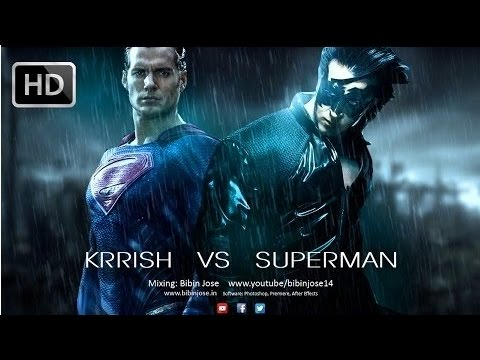 Krrish 4  VS Superman Fight- How  Superman Died Krrish Wins (RRT)