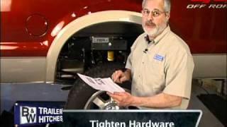B&W Turnoverball Gooseneck Trailer Hitch Installation Demonstration- Model 1108